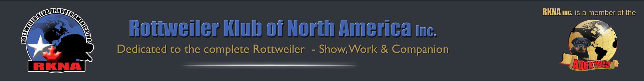 Rottweiler Klub of North America Inc. USA | Website